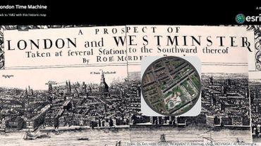 """""""London Time Machine"""" : plongée dans le vieux Londres"""