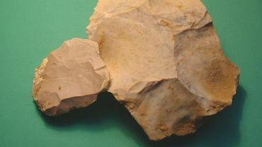 Certaines pierres taillées retrouvées par Frédéric Van Diijck à Orp-Jauche relève d'une culture moustérienne (technique Levallois), associée à l'homme de Neandertal