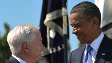 Robert Gates et Barack Obama