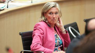 Françoise Bertieaux, cheffe de groupe MR au Parlement de la FWB