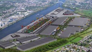 La fin des travaux du Trilogiport prévus pour la fin du mois d'octobre