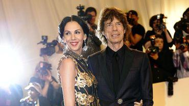 L'Wren Scott et Mick Jagger en mai 2011
