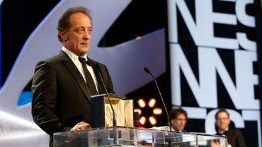 Vincent Lindon reçoit le prix d'interprétation masculine