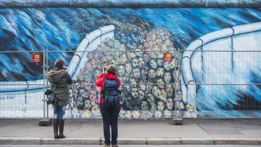 L'East Side Gallery, à Berlin