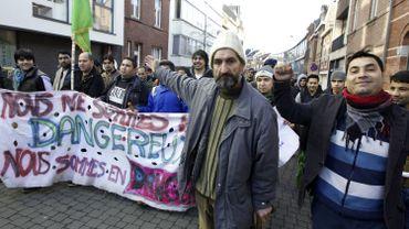 Le week-end dernier, un groupe d'Afghans a marché de Bruxelles à Gand en demandant de ne pas être renvoyés dans leur pays