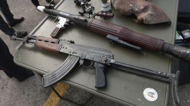 Type d'armes régulièrement exportées lors de trafics