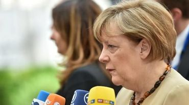 La chancelière allemande Angela Merkel le 11 juin 2015 à Bruxelles