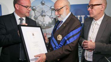 François Englert fait Docteur Honoris Causa à l'Université d'Edimbourg