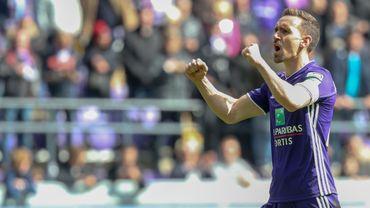 Kums, Soulier d'Or 2015, prêté par Anderlecht à La Gantoise