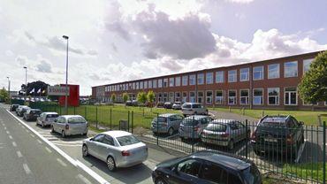 Le site de 3 Suisses, à Orcq (près de Tournai).