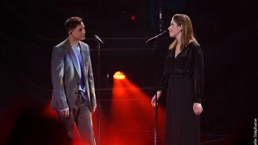Loïc Nottet et Charlotte : duo sensationnel sur la scène de The Voice !