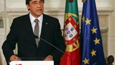 Le Premier ministre portugais Pedro Passos Coelho, le 13 octobre 2011 à Lisbonne