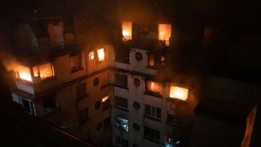 Incendie à Paris: la suspecte, qui avait fait 13 séjours en psychiatrie, placée en détention provisoire