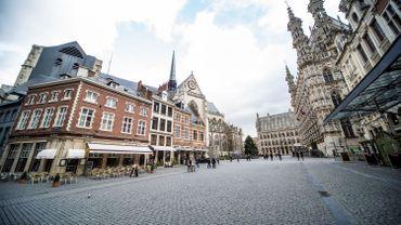 Grand-Place de Louvain (Leuven) en 2014