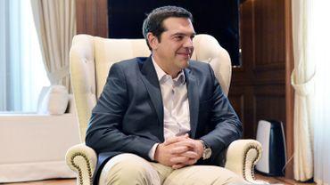 Le Premier ministre grec, Alexis Tsipras.