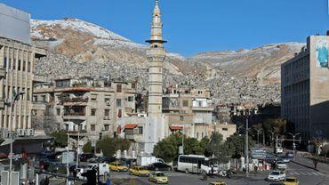 Un quartier de Damas, le 17 janvier 2019