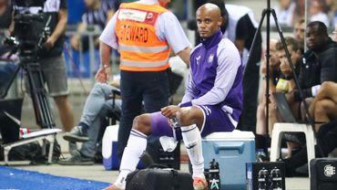 Nouvelle blessure pour Kompany, touché en Coupe de Belgique face au Beerschot