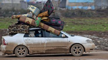 60% des déplacés sont des enfants.