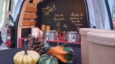 """Un """"soup truck"""" à Anhée, Evrehailles et Sorinnes"""