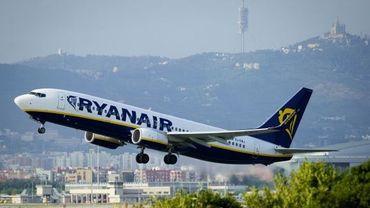 Un vol Ryanair à Barcelone