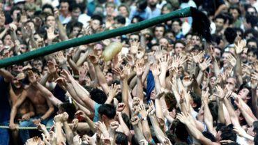 """Le combat dit """"Lumeçon"""" de 1992, une image inimaginable dans les circonstances actuelles"""