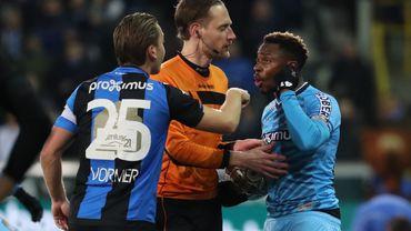 Francis N'Ganga victime de cris racistes lors de FC Bruges-Charleroi