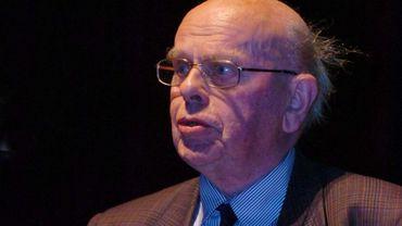 Robert Wangermée, 1er Administrateur de la RTBF, et fondateur du 3e programme radio, est décédé à l'âge de 98 ans - © YVES BOUCAU - BELGA