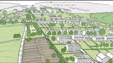 Un demi millier de logements sur les hauteurs chênéennes....