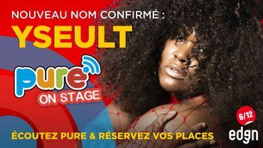 Yseult rejoint l'affiche de Pure On Stage