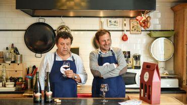 Eric Boschman et Geoffroy Van Lede