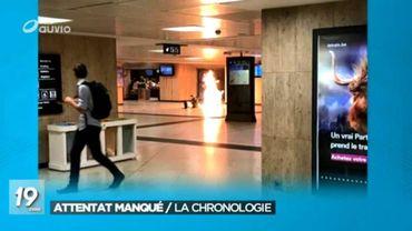 La photo de l'une des explosions gare Centrale.