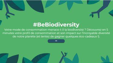La campagne #BeBiodiversity a été lancée l'année dernière