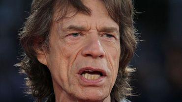 Mick Jagger à Deauville le 12 septembre 2014