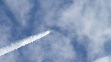 Photo remise par la Nasa montrant le lancement de la Delta II Heavy Rocket de l'United Launch Alliance depuis la Floride, le 13 décembre 2012