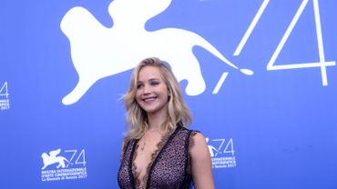Jennifer Lawrence à la Mostra