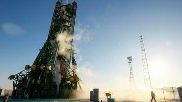 Le cosmodrome de Baïkonour, au Kazakhstan d'où s'est envolée dimanche une fusée Soyouz avec trois astronautes à bord à destination de la Station spatiale internationale