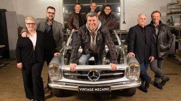 """""""Vintage Mecanic"""" : l'émission qui va faire vrombir les passionnés de vieilles voitures !"""