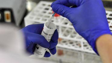 Coronavirus : quelque 10.000 tests effectués chaque jour
