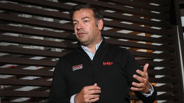 John Lelangue, directeur sportif de Lotto-Soudal.