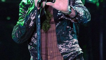 David Bowie en concert en 2003