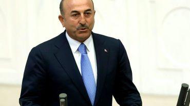 Le ministre des Affaires étrangères turc Mevlut Cavusoglu le 10 juillet 2018 à Ankara, en Turquie