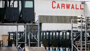 Le site de Carwall situé à Sombreffe emploie 200 personnes.