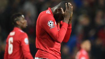 Terrible désillusion pour Romelu Lukaku et Manchester United