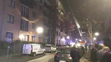 Incendie à Ixelles
