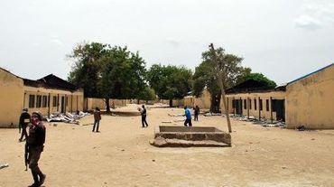 L'école de Chibok où ont été enlevées 200 jeunes filles par Boko Haram, le 21 avril 2014