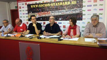 """Les """"Socios du Standard"""" espère récolter entre un million et trois millions d'euros lors du prochain appel de fonds."""