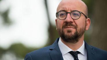 Militaires agressés à Bruxelles: Charles Michel apporte son soutien aux militaires