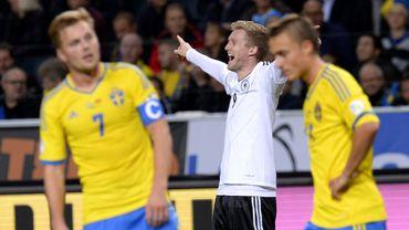 Schürrle et l'Allemagne font le show en Suède