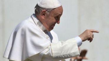 Le pape François au Vatican, le 10 avril 2013
