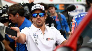 Fernando Alonso n'exclut pas un retour en Formule 1
